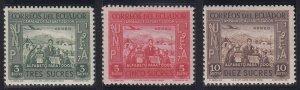 Ecuador - 1948 - SC C190-92 - NH - High values