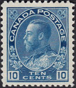 CANADA 117 FVF MH (102618)