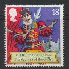 Great Britain SG 1624   Used  - Opera Arthur Sullivan
