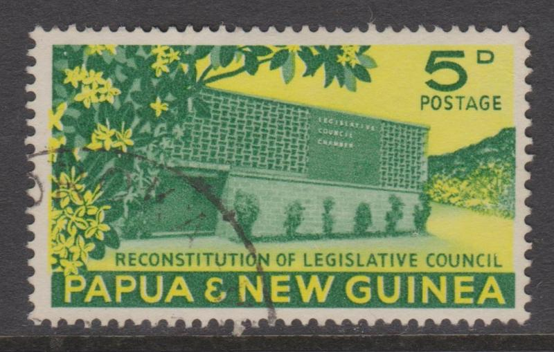 Papua New Guinea Sc#148 Used
