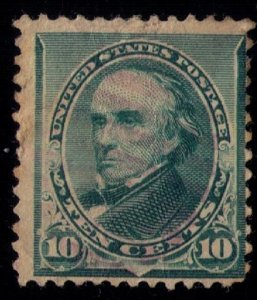 US SCOTT #226 USED LIGHTLY CANCELLED FINE