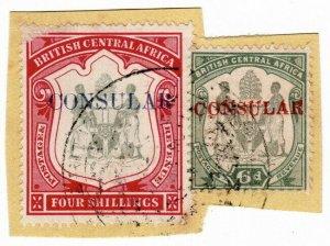 (I.B) Rhodesia/British Central Africa Revenue : Consular 4/6d