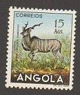ANGOLA #380 MINT  LIGHTLY HINGED