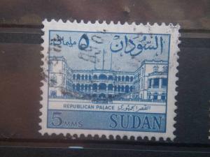 SUDAN, 1962, used 5m, Palace Scott 146
