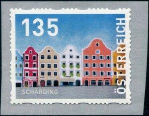 HERRICKSTAMP NEW ISSUES AUSTRIA Sc.# 2807 Scharding Self-Adhesive Coil