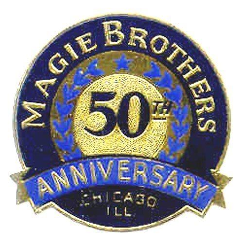 Magie Brothers Oil Co. 50th Anniversary Poster Stamp