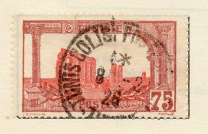 Tunis 1906 Early Issue Fine Used 75c. NW-114598