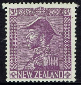 NEW ZEALAND 1926 KGV ADMIRAL 3/-