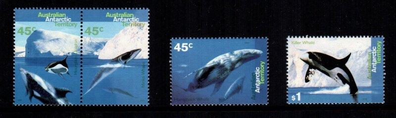 Australian Antarctic Territory  L94 - L97  MNH cat $ 5.35
