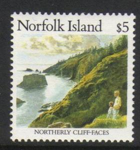 Norfolk Island #416 mint, Northerly Cliff Faces