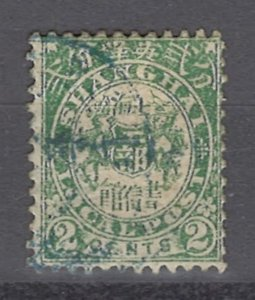 COLLECTION LOT OF # 961 SHANGHAI # 137 1892