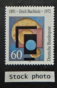 Germany 1623. 1991 Eric Buchholz, painter and architect, NH