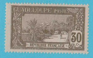 GUADELOUPE 67 SHADE VARIETY MINT HINGED OG *NO FAULTS VERY  FINE !