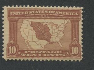 1904 US Stamps #327 10c Mint Hinged F/VF OG Louisiana Purchase Exposition Issue