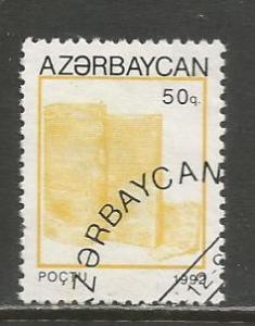 Azerbaijan   #368  Used  (1993)  c.v. $0.50