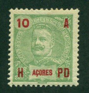 Azores 1906 #103 MH SCV(2020)=$0.45
