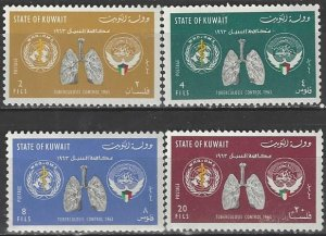 Kuwait  204-7  MNH  UN WHO