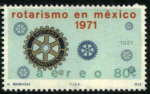 MEXICO C401 Rotary Internat. in Mexico, 50th Anniversary MNH