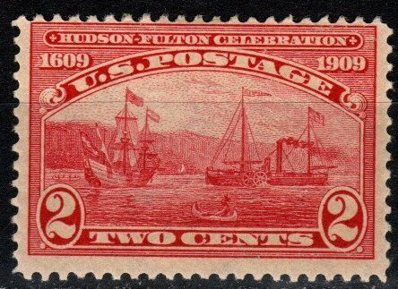 US #372 F-VF Unuse d CV $10.00 (X8056)