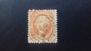 United States 1866 Dept pof Internal Revenue Used