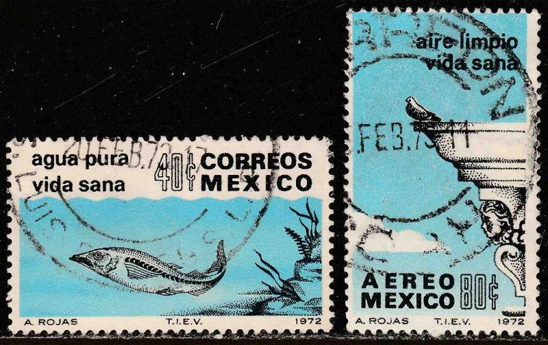 MEXICO 1049, C412 Anti-Pollution Campaign Used. F-VF. (270)