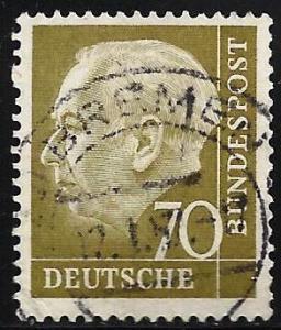 Germany 1954 Scott # 716 Used