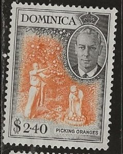 Dominica | Scott # 136 - MH