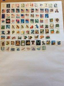 USA 100 stamps - Lot H