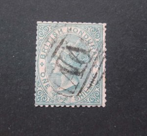 British Honduras 1866 Sc 3 FU