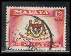 Malaya-Federation Used Very Fine ZA4371