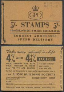 H31 November 1957 5/- Booklet