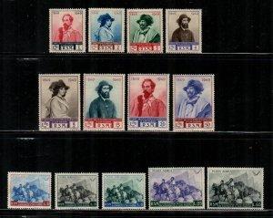 San Marino #296-303, C57-C61  MNH  Scott $65.00