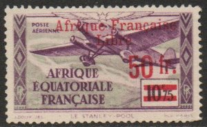 French Equatorial Africa Sc #C15 Mint Hinged; Mi #162