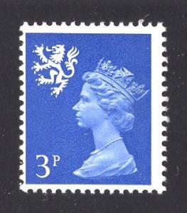 Great Britain Scotland  #SMH2  3 p   MNH Q E II   Machin