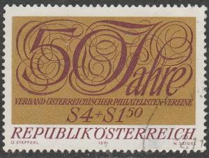 Autriche  1971  Scott No. B327  (O)  Semi postal