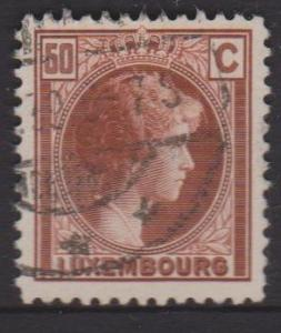 Luxembourg Sc#170 Used