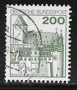 Germany 1240A: 200pf Burresheim, used, VF