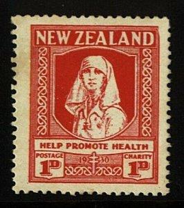NEW ZEALAND 1930 Health Nurse fine mint - lightly hinged...................23028