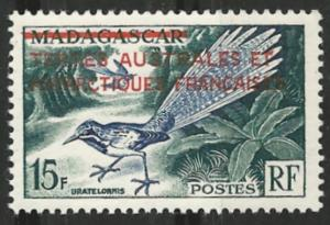 French Southern & Antarctic # 1  Bird - overprint (1) Mint NH