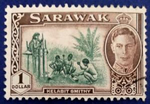 Sarawak Scott # 192 Used (A162)