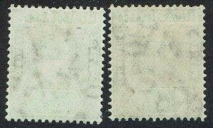 LEEWARD ISLANDS 1905 KEVII ½D BOTH PAPERS WMK MULTI CROWN CA
