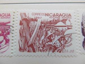 Nicaragua 1987 25cor fine used stamp A11P11F89