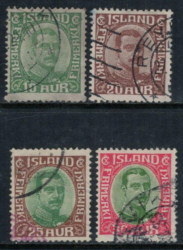 Iceland #116,9,20,2  CV $9.50
