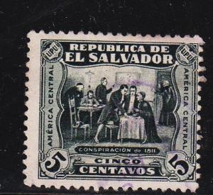 El Salvador - #498 Conspiracy of 1811 - Used