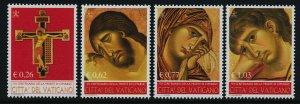 Vatican 1228-31 MNH Cimabue, Art, Crucifix, Virgin Mary, St John
