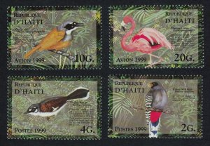 Haiti Birds Flamingo Trogon Warbler 4v SG#1640-1643 SC#909-912