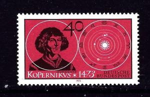 Germany 1104 MNH 1973 Copernicus issue