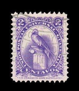 GUATEMALA STAMP 1957. SCOTT # 367. USED. # 3