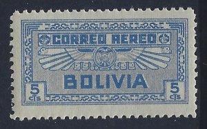 Bolivia, Scott #C35; 5c Air Service Emblem, MNH