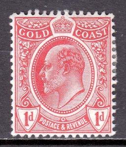 Gold Coast - Scott #66 - MH - SCV $6.00
